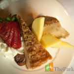 Housing for seniors featuring Fine Dining! The Parkway Retirement Community offers you the lifestyle that you deserve with fine dining by our Red Seal Chef Desserts Menu, Holidays And Events, Fine Dining, Pecan, Strawberries, Retirement, Pie, Community, Breakfast
