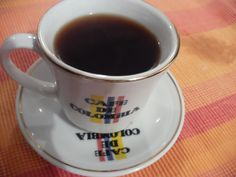 Cocina Real Free:  Café negro o tinto Colombiano tradicional