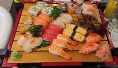 Sushi family @ hamachi ya, Pyrmont, Sydney Australia 2013