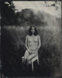 Alina, 11x14 tintype