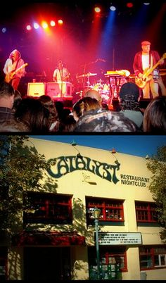 Sublime w/ Rome.. Playing at Catalyst in Santa Cruz, CA........my dad had his jewelry shop in here.......memories.....good bands