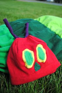 Dahlhart Lane: Hungry Caterpillar Costume