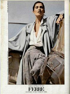 #GianfrancoFerré #Trends #Look #1980s #BoldColors #ExaggeratedShapes #Jewelry #mafash14 #bocconi #sdabocconi #mooc #w3