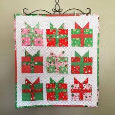 Christmas Present  Mini Quilt                                                                                                                                                     More