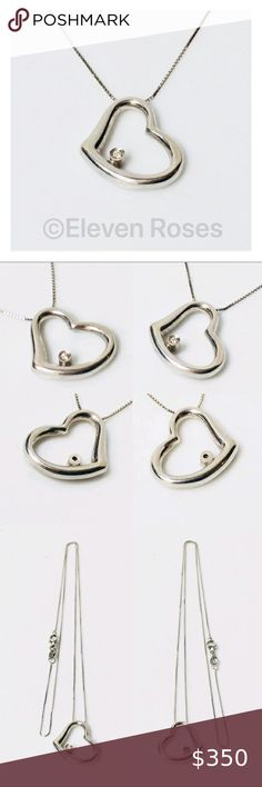 """Trendy Triple Square Silver Pendant Polished 18/"""" Necklace Lobster Claw  Fasten"""