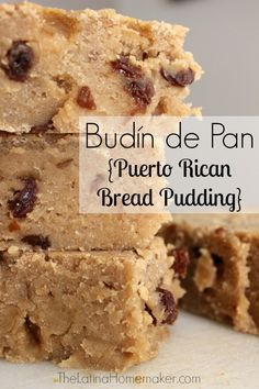 Budín de Pan-A delicious Puerto Rican bread pudding recipe that is as good as it looks!