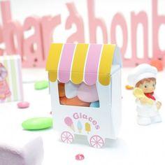 Une boîte à dragées pas cher pour Candy bar, par son originalité apportera une touche festive supplémentaire lors de votre événement.