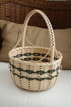 Majestic Mountain Basket. $66.00, via Etsy.