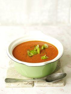 Tomato Soup & Basil | Vegetables Recipes | Jamie Oliver Recipes