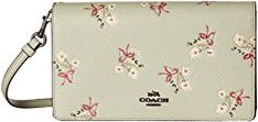 New COACH Floral Bow Fold-Over Crossbody Clutch online. Find the  great Greg Michaels Handbags from top store. Sku nqmz19167bggp49956