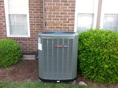 Change out; Trane air conditioner