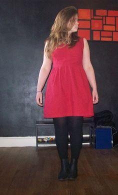 robe sureau rouge