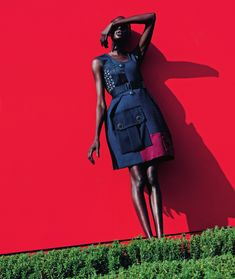 Ajak Deng by Julia Noni for Neiman Marcus March 2015 12