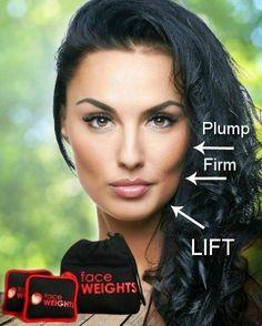 #1 Best Seller - Face Weights DIY Face Lift System
