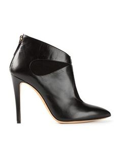 Boots for Women, Booties On Sale in Outlet, Black, Suede leather, 2017, 8 Giorgio Armani