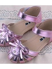 Girls'+Shoes+PU+Spring+Fall+Comfort+Sandals+For+Casual+Blushing+Pink+Purple+Gold+–+USD+$+21.61