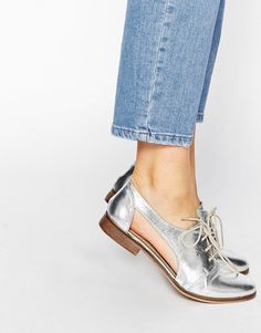 Buy ASOS MIGHT YOU Cut Out Leather Jazz Shoes at ASOS. Get the latest trends with ASOS now. Dr Shoes, Keep Shoes, Jazz Shoes, Me Too Shoes, Shoes Sandals, Pretty Shoes, Beautiful Shoes, Cute Shoes, Daily Shoes