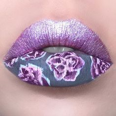 1001 The Most Amazing Lip Art < myfashiontoday Lip Art, Lipstick Art, Lipstick Colors, Lip Colors, Lipsticks, Crazy Makeup, Cute Makeup, Makeup Art, Lip Makeup