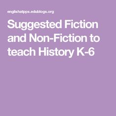 Suggested Fiction and Non-Fiction to teach History Australian Curriculum, Nonfiction, School Stuff, Classroom, Teaching, History, School Supplies, Class Room, Learning