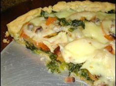 Receita de Torta de Pizza - Massa:, 2 xícaras (chá) de leite, 3 ovos, 1 ½ xícara…