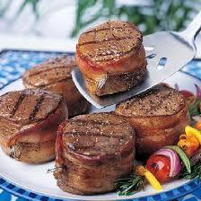 bacon-wrapped filet mignon