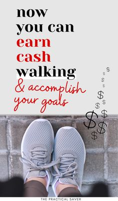 Make money for something you already do, walking! 13 Easy Ways to Get Paid to Walk. Earn extra cash by being healthy using these sneaky ways to make money. Find out which smart phone apps will make you money for walking, download them for FREE. Now you can reach your health and finance goals. Learn how, click now! | The Practical Saver | #makemoneyonline #moneyhacks Hobbies That Make Money, Make Money Fast, Ways To Save Money, Make Money From Home, Money Saving Tips, Make Money Online, Things To Sell, Living On A Budget, Frugal Living Tips