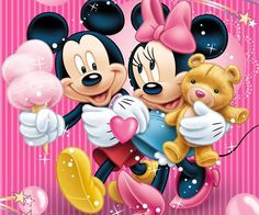 Mickey and Minnie Mouse Diamond Painting Full Square Drill Mosaic Diamond Embroidery Disney Cross Stitch Kits Bedroom Decor Wall Painting Arte Do Mickey Mouse, Minnie Mouse Cartoons, Mickey And Minnie Love, Mickey Mouse And Friends, Disney Cartoons, Disney Mickey Mouse, Walt Disney, Disney Art, Disney Collage