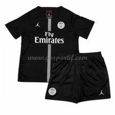 Paris Saint Germain PSG maillot de foot enfant 2018-19 maillot third Maillot Paris Saint Germain, Football Kits, Saints, Clothes, Tops, Sport, Fashion, Soccer Jerseys, Shirts