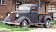 37 Chevy #ClassicCars #CTins #Chevy #VintageTruck