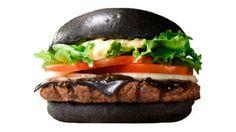 ACHTUNG, DER BURGER IST NICHT VERBRANNT In Japan ist der Burger jetzt schwarz