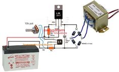 Electronics Projects For Beginners, Electronics Mini Projects, Hobby Electronics, Electrical Projects, Electrical Installation, Mechanical Engineering Design, Electronic Engineering, Electrical Engineering, Battery Charger Circuit
