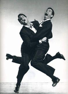 Dean Martin & Jerry Lewis (Philippe Halsman photo)