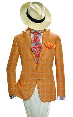 Summer and Spring Jackets - Adrian Jules Dress Suits, Men Dress, Mens Double Breasted Blazer, Urban Fashion, Mens Fashion, Blazers, Elegant Man, Classy Men, Spring Jackets