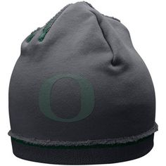 Nike Oregon Ducks Charcoal Jersey Knit Beanie