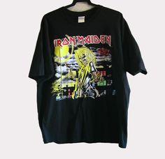 CAMISETA IRON MAIDEN KILLERS (24 €)  Camiseta para hombre de manga corta del grupo Iron Maiden: Killers. Color negro.Tejido de algodon. Talla:XL. La camiseta está sin estrenar y en perfecto estado. Solo le falta la etiqueta.  Pago con PayPal o Contra reembolso. 24 € +gastos de envío.