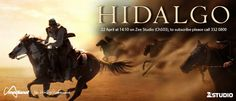 Hidalgo - In 1890, a down-and-out cowboy and his horse travel to Arabia to compete in a deadly cross desert horse race.