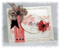 Demonstrator Sandi MacIver shares a card she created with the Mojo Monday and Dynamic Duo Challenges for this week.