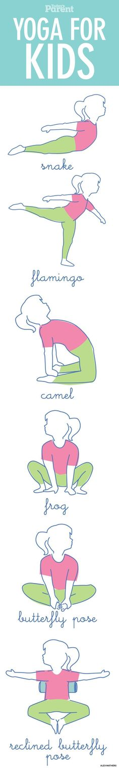 how to help your kids calm down with a few simple yoga poses