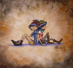 Erika Pearce: Gorillaz Fan Art on the Behance Network