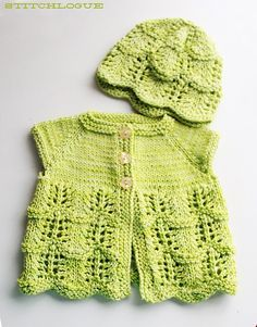 Lily's Cardigan By Stitchlogue By Calista Yoo - Free Knitted Pattern - (ravelry)