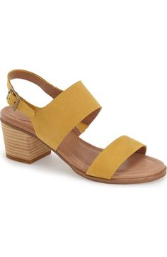 Caslon® 'Carden' Block Heel Slingback Sandal (Women) available at #Nordstrom