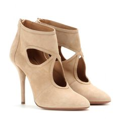 Aquazzura - Booties Sexy Thing aus Veloursleder - mytheresa.com GmbH