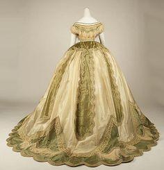 1850-1870 men's costume | Robe a la transformation, ca 1865 France, the Met Museum
