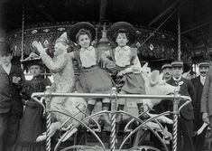 Luna Park, Paris,  1910
