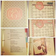 DIY Wedding Planning Binder by SouthernWeddingStyle ...super detailed and helpful! Love it.