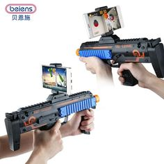 Beiens Fidget Toys VR AR Game Gun with Cell Phone Stand Holder AR Toy Game Gun with 3D AR Games for iPhone Android Smart Phone http://cheap-drones-vr.myshopify.com/products/beiens-fidget-toys-vr-ar-game-gun-with-cell-phone-stand-holder-ar-toy-game-gun-with-3d-ar-games-for-iphone-android-smart-phone?utm_campaign=crowdfire&utm_content=crowdfire&utm_medium=social&utm_source=pinterest