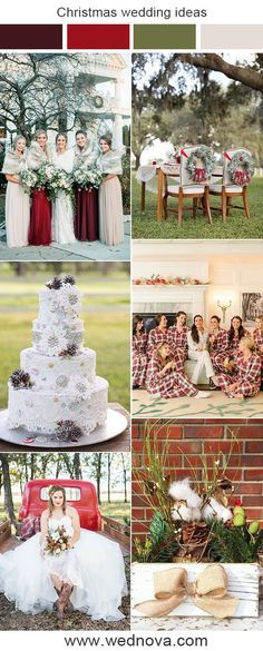 Christmas Themes Wedding Ideas For Winter Wedding Weddings