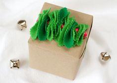 Creative Holiday Gift Wrap www.fiskars.com