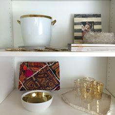 shelves inside shopHDB's home office