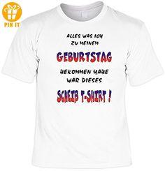T-Shirt mit Urkunde - Alles was ich zum Geburtstag bekommen habe, ist  dieses scheiß T-Shirt - lustiges Sprüche Shirt als Geschenk zum Geburtstag  - NEU mit ...